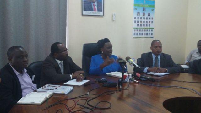 Waziri wa Elimu Sayansi Teknolojia na mafunzo ya ufundi Profesa Joyce Ndalichako