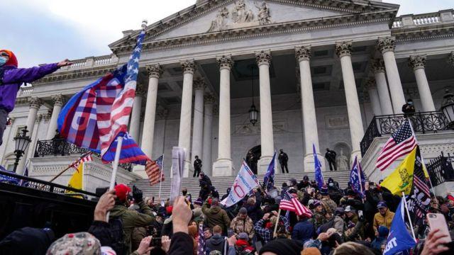 Asalto al Capitolio.