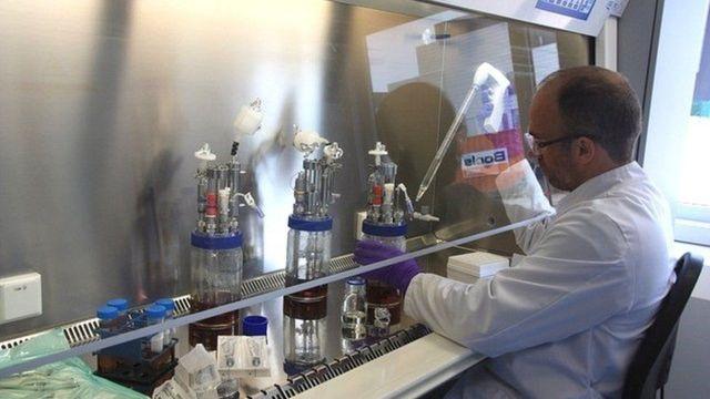 مختبر إس- بيومديك في جلابس بييرز في بلجيكا