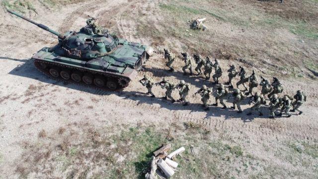 قوات برمائية تركية في إزمير - 17 نوفمبر/تشرين الثاني 2019