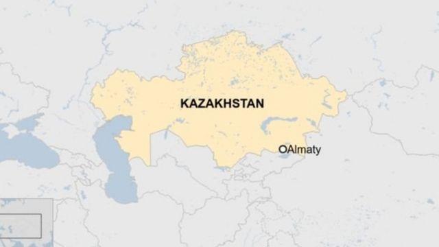 Ramani ya Kazakhstan