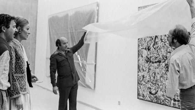 افتتاحیه موزه هنرهای معاصر