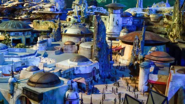Prototipo nuevas atracciones de Disney