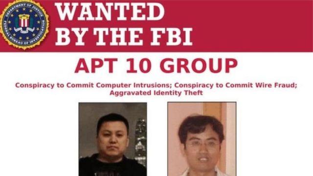 آگهی پلیس آمریکا برای بازداشت دو هکر