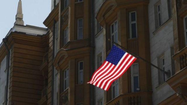 สถานทูตสหรัฐฯ ในกรุงมอสโก
