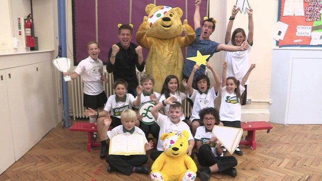 Dick and Dom launch Children In Need appeal