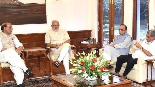 भारत प्रशासित कश्मीर के उड़ी में हुए हमले को लेकर सोमवार को प्रधानमंत्री नरेंद्र मोदी ने उच्चस्तरीय बैठक की