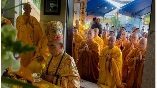 Lễ nhập kim quang và lễ phát tang cố hòa thượng Thích Quảng Độ