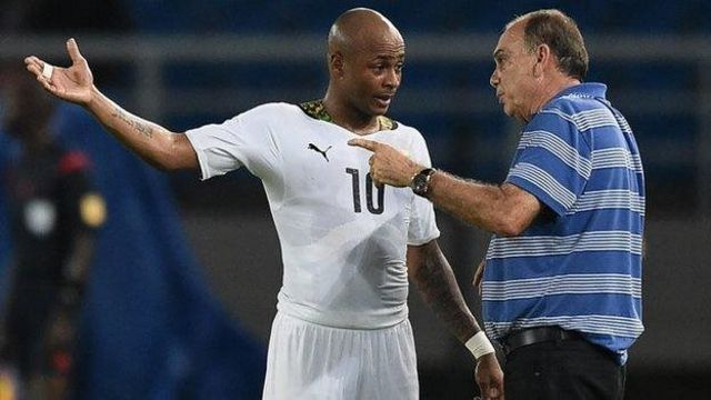Andre Ayew, capitaine des Black Stars du Ghana