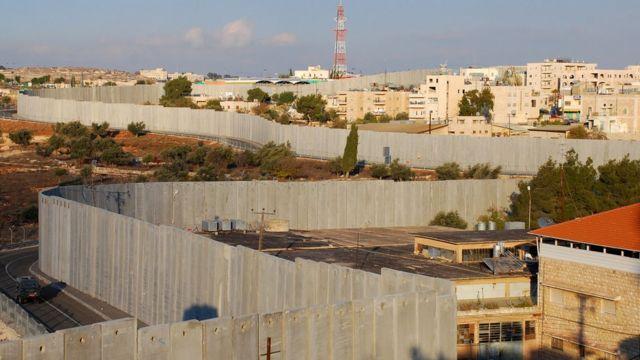 Muro en Cisjordania