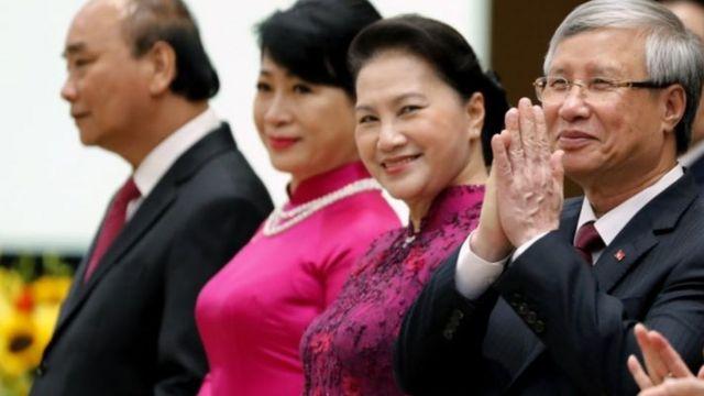 Một số lãnh đạo Việt Nam dự lễ kỷ niệm 75 năm Quốc khánh