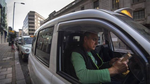 Un taxista de Londres
