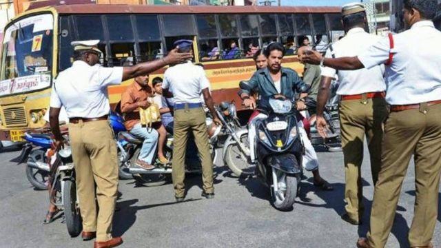 சென்னை டிராபிக் போலீஸ்
