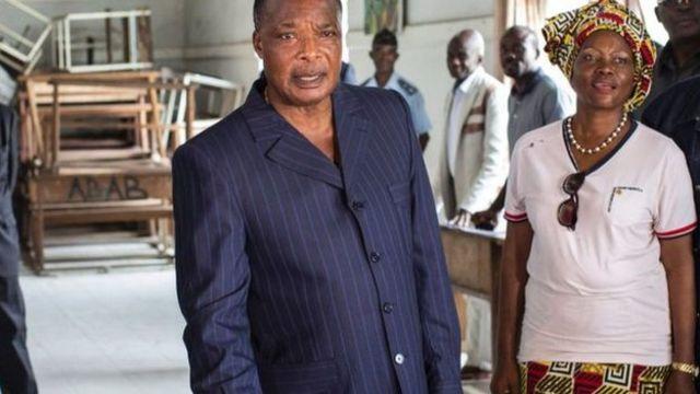 Prezida Sassou Nguesso ari ku butegetsi kuva mu 1979, havuyemwo imyaka itanu gusa yatsinzwe mu matora