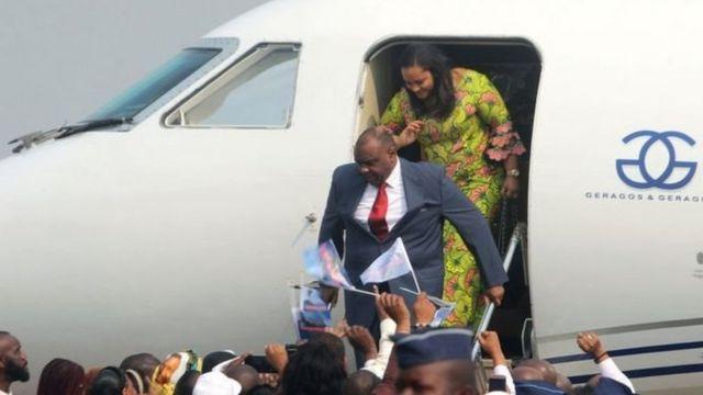 Jean-Pierre Bemba oo Kinshasa ka soo dagaya