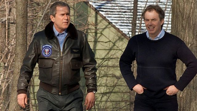 Bush y Blair