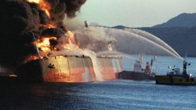 حمله به یک نفتکش