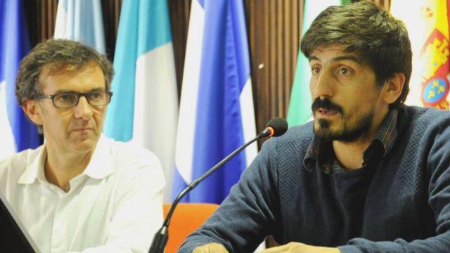 Juan José Calvo e Pablo Álvarez