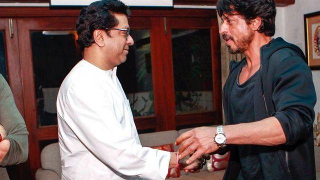 राज ठाकरे, शाहरुख़ ख़ान