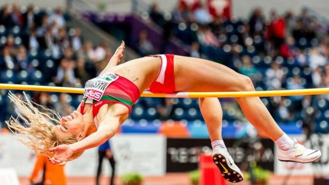 Яна Максимова во время соревнований. Фото 2017 года