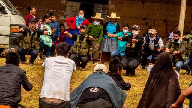 Rondas campesinas en Cajamarca
