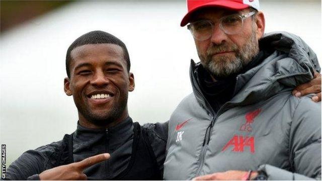 Georginio Wijnaldum anajiandaa kuondoka Liverpool kwa uhamisho huru