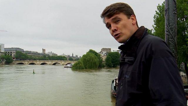 James Reynolds in Paris