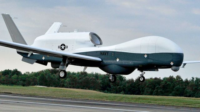 Gulf crisis: US confirms drone was shot down by Iranian missile