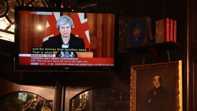 Brexit: Theresa May at the mercy of events