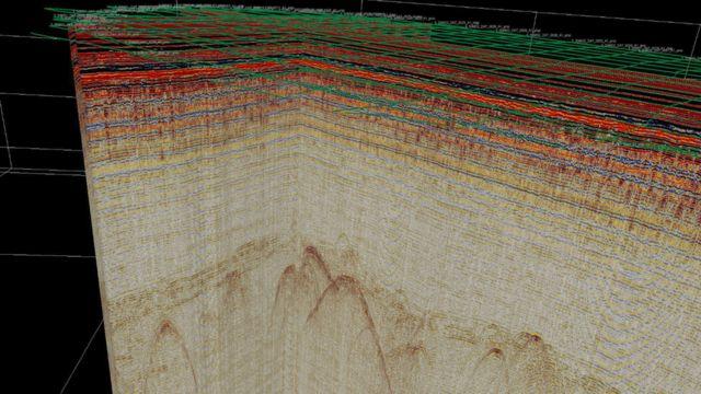 Imagem de radar de 2017 mostra teto da base subterrânea de Camp Century