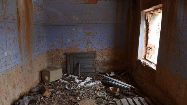 Casa rural vacía