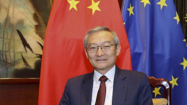 中國駐歐盟大使張明