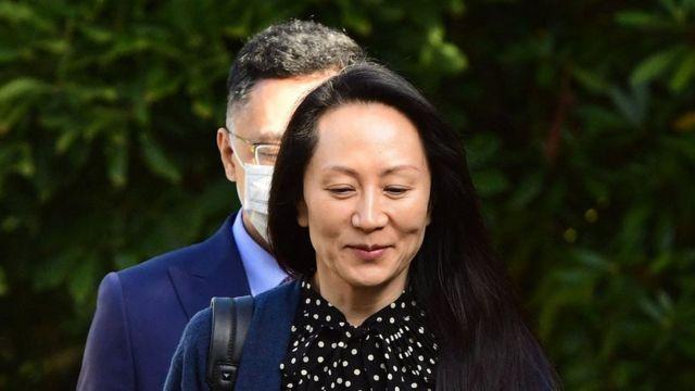 Mạnh Vãn Chu rời nhà ở Vancouver (24 tháng 9)