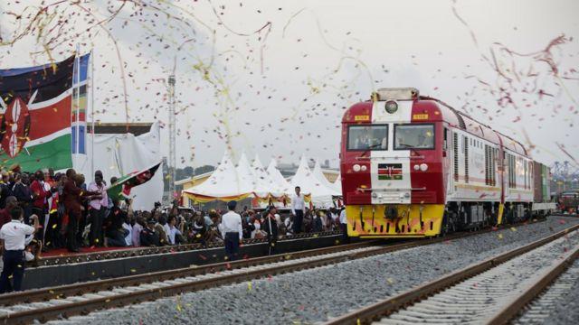 近年来,中国向肯尼亚投资了数百万美元,包括铁路项目。