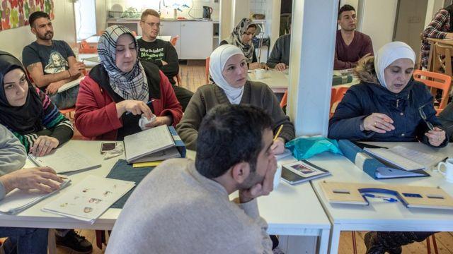 imigrantes na Suécia