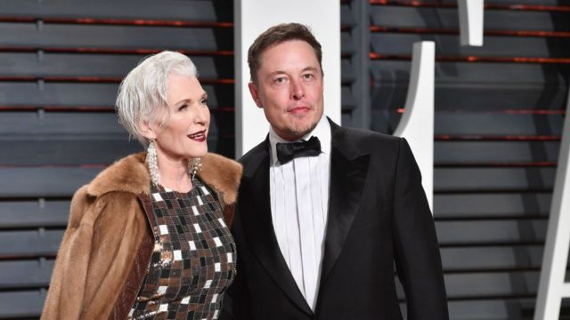 Maye Musk e Elon Musk