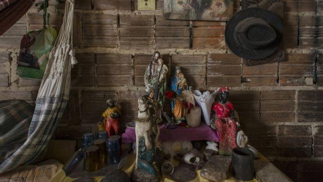 Detalhe de casa em Fortaleza
