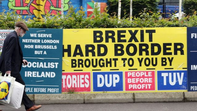 Afiche contra Brexit.