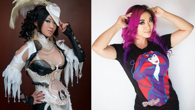 Yaya Han in cosplay and out
