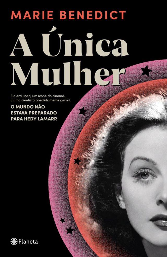 Capa de livro sobre Hedy Lamarr