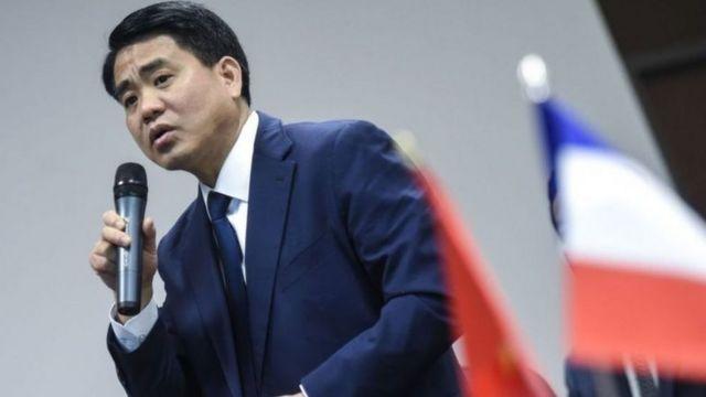 Chủ tịch UBND TP Hà Nội Nguyễn Đức Chung dường như chưa có bình luận gì về các diễn biến liên quan tới việc điều tra và khởi tố cán bộ làm việc trực tiếp với ông.