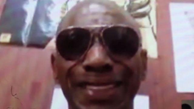 Kenroy Smith'in yayınladığı videodan bir kare