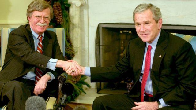George W. Bush e Bolton