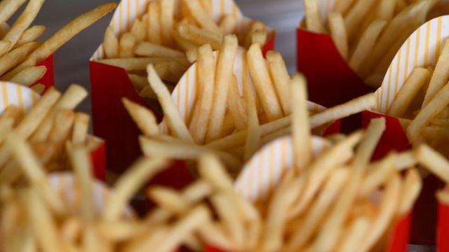 Papas fritas de McDonald's