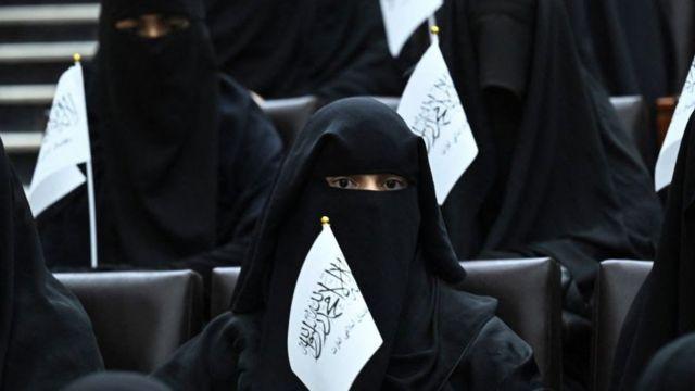 Mujer con velo, Kabul