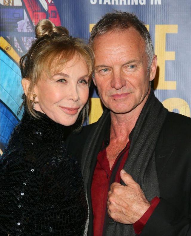 Стинг с женой актрисой Труди Стайлер