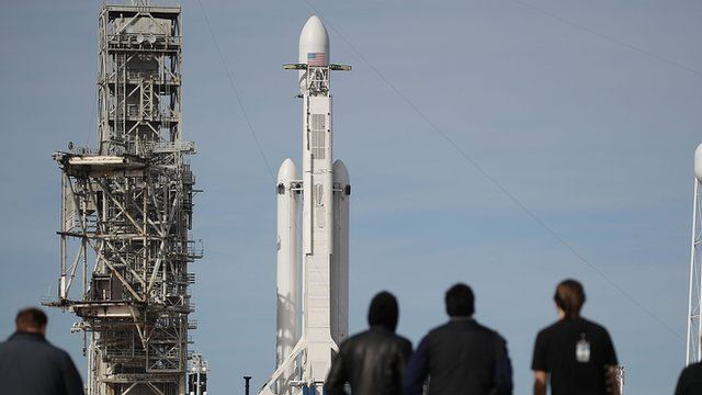 El cohete Falcon Heavy de SpaceX
