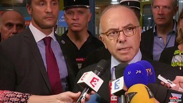 France interior minister Bernard Cazeneuve