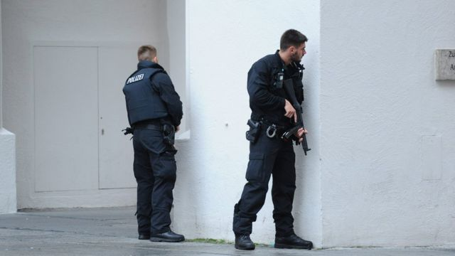 Полиция в Мюнхене