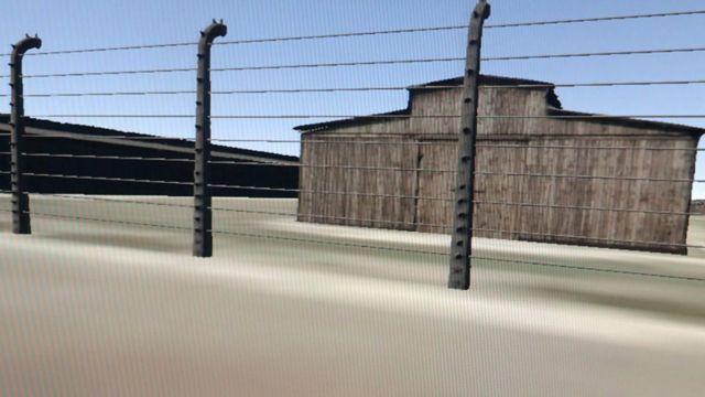 A virtual reality view of Auschwitz II-Birkenau